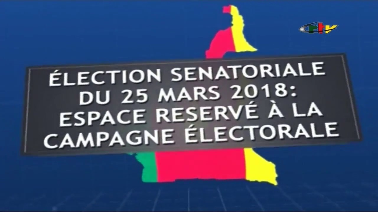 Espace Campagne Elections Sénatoriales – 23 Mars 2018