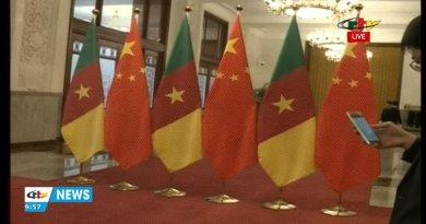 Visite du Président de la République, S.E. Paul BIYA, en Chine – 22 Mars 2018
