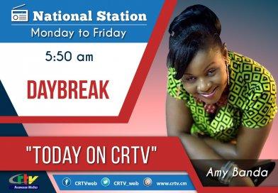 Today On CRTV