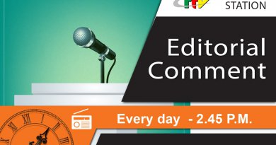 Editorial Comment – 21th September 2018