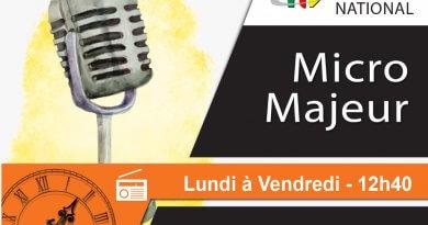 Micro Majeur : Ibrahim Chérif – 23 Janvier 2020