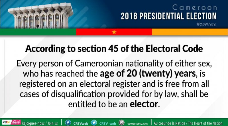 WHO IS AN ELECTOR?