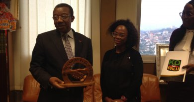 Fighting Malaria : Crtv Receives Award of Excellence