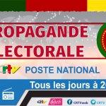 Propagande Electorale Présidentielle 2018 – 22 Septembre 2018