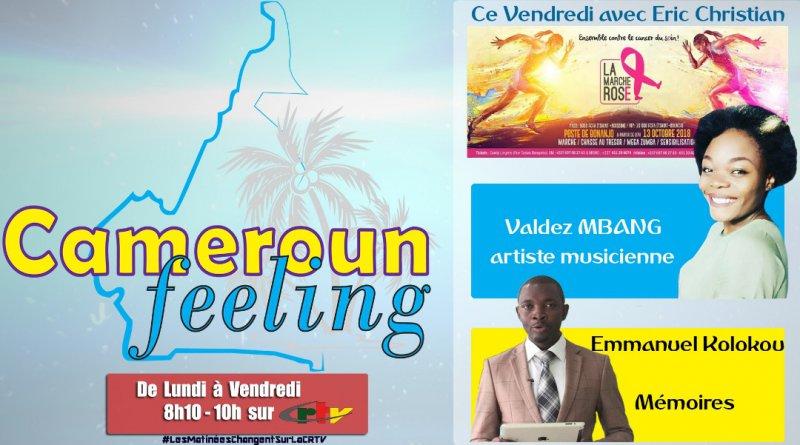 CAMEROUN FEELING DE CE VENDREDI
