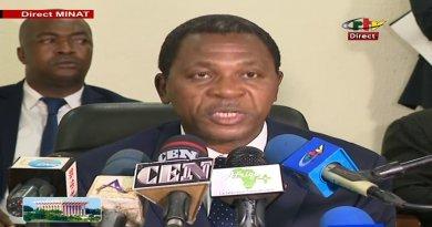 Déclaration du Ministre de l'Administration Territorial (MINAT) – 08 Octobre 2018