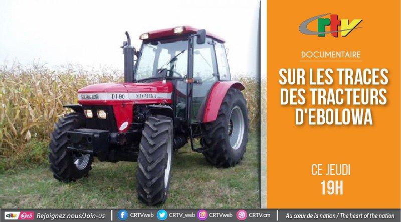 Sur les traces des tracteurs d'Ebolowa