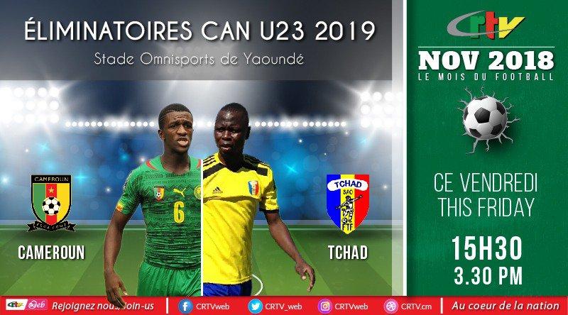 Éliminatoires Can U23 2019