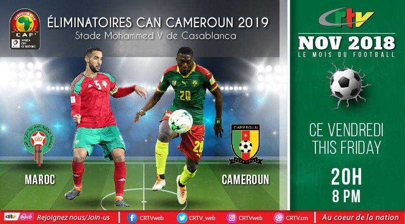 Éliminatoires Can Cameroun 2019