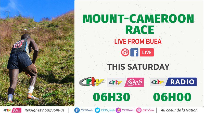 MOUNT CAMEROON RACE LIVE FROM BUEA