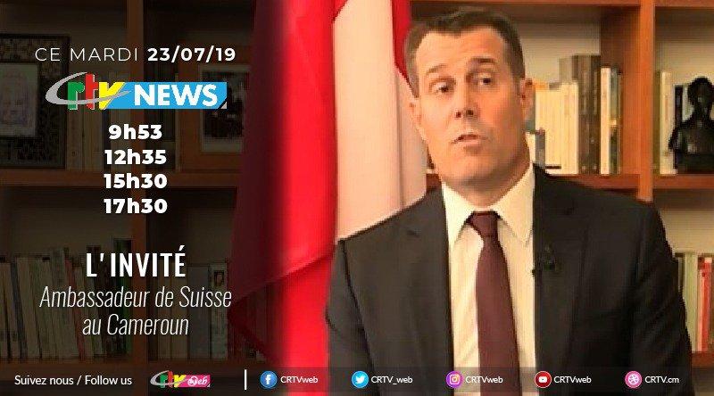 L'Ambassadeur de Suisse au Cameroun