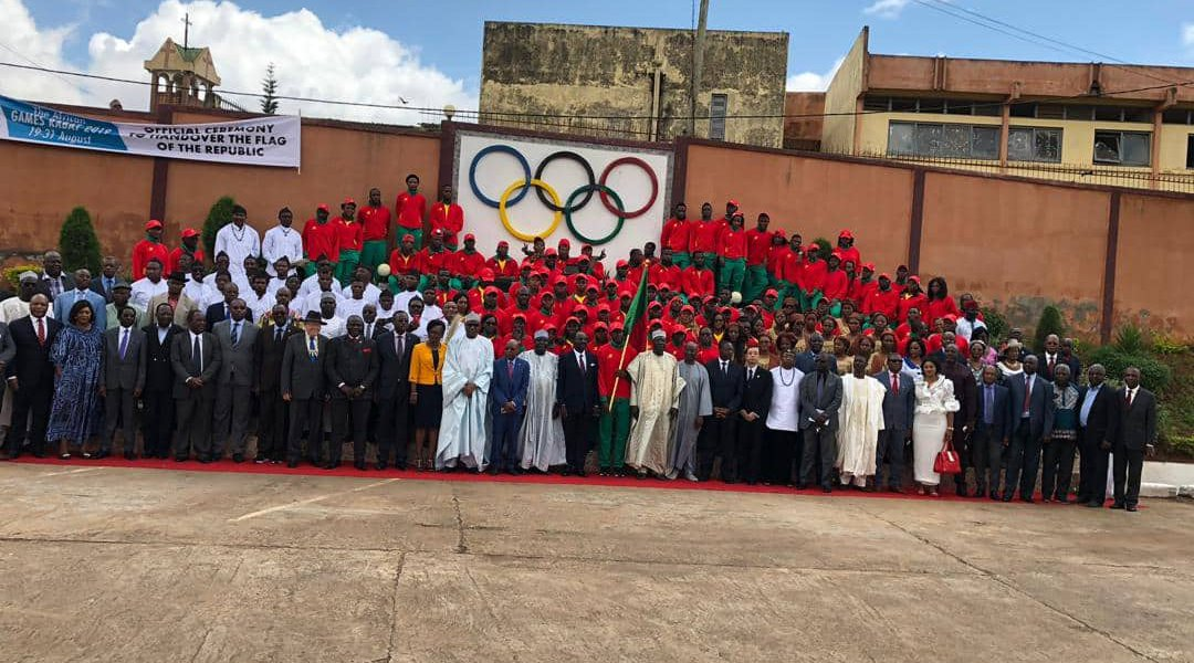 2019 All Africa Games: Team Cameroon sent off in style