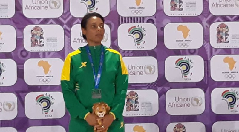 Sarah Hanffou 2019 All Africa Games silver medalist