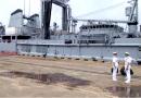 Somme, le 1er navire militaire à Kribi
