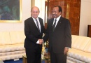 France- Cameroon: Jean- Yves le Drian recieved by President Biya