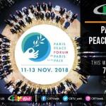 Yves Marc MEDZO était à la Cérémonie d'Ouverture solennelle du 2ème Forum de Paris sur la Paix – 12 Novembre 2019