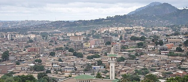Yaounde landscape