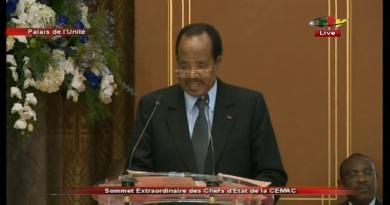 Discours de Clôture du sommet Extraordinaire de Yaoundé – 22 Novembre 2019