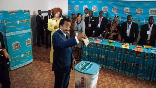 elections in Cameroon