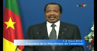 Paul Biya, la Passion du Cameroun – 06 Novembre 2019