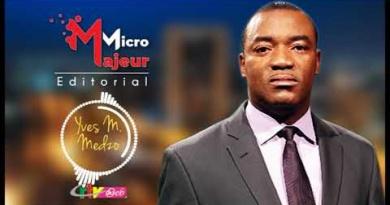 Micro Majeur: Yves Marc MEDZO – 18 Septembre 2020