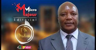 Micro Majeur – Francois Mar Modzom – 22 Septembre 2020