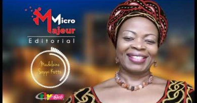 Micro majeur : Madelaine Soppi Kotto – 12 Aout 2020