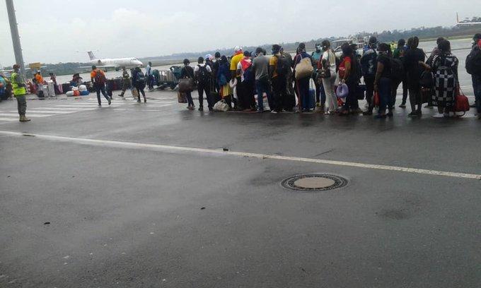 camerounais rapatriés