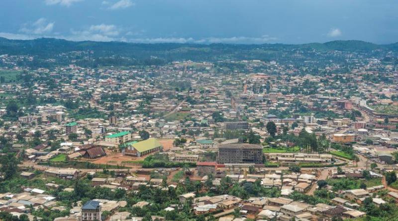 landscape of Bamenda