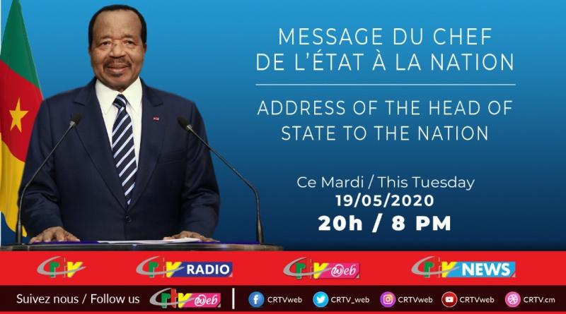Le Chef de l'Etat s'adresse à la Nation