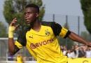 Football: Cameroonian 15-year-old Youssoufa Moukoko, the teenage superstar with Borussia Dortmund