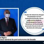 Invité du 13h00: Cyrus NGO'O: DG du Port Autonome de Douala – 13 Octobre 2020