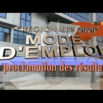 Régionales 2020 – Mode d'Emploi: La Proclamation des Résultats – 22 Novembre 2020
